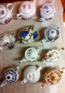 Tea Pots - Ada's Tea is a fundraiser held every spring